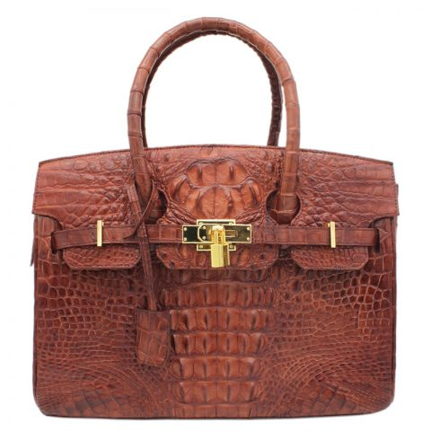 Crocodile Leather Handbag S034a