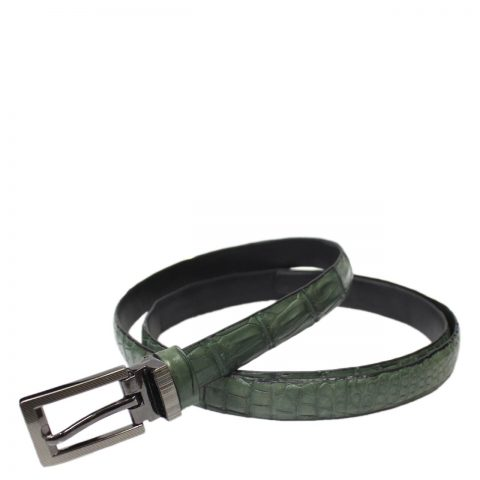 Crocodile Leather Belt S501b