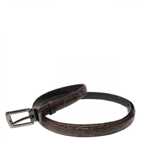 Crocodile Leather Belt S501c