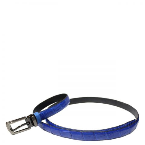 Crocodile Leather Belt S501e