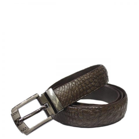 Crocodile Leather Belt S502d