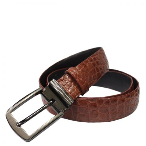 Crocodile Leather Belt S503a