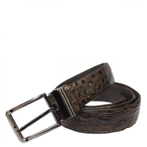 Crocodile Leather Belt S505a