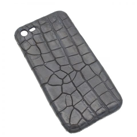 Crocodile leather iphone 7 cover S1064a