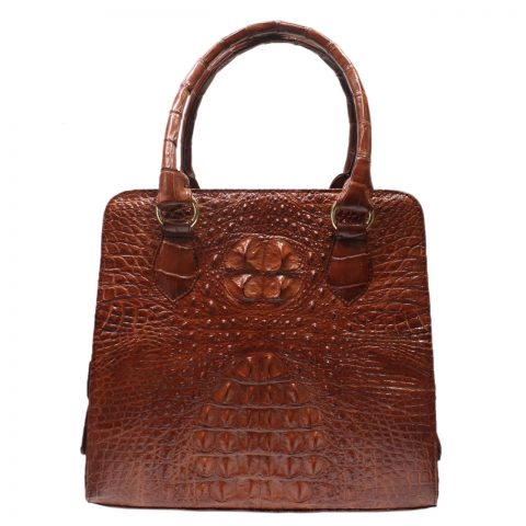 Crocodile Leather Handbag S028b