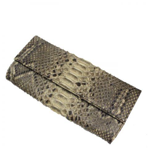 Python Leather Purse T306b