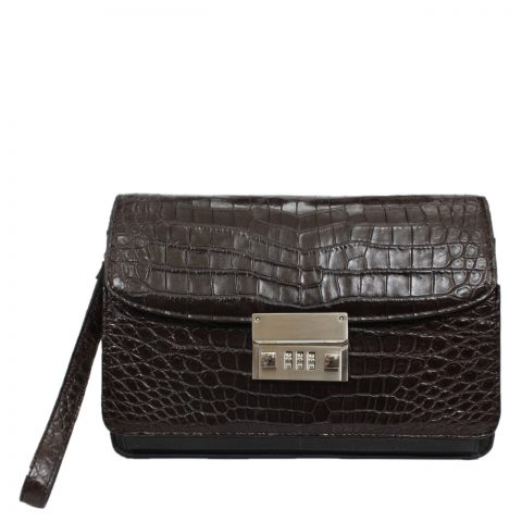 Crocodile leather handbag S039a