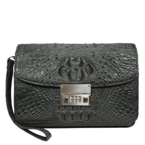 Crocodile leather handbag S040a