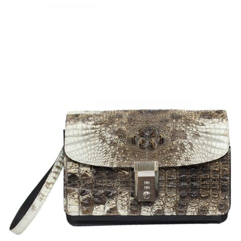 Original crocodile leather handbag S041a