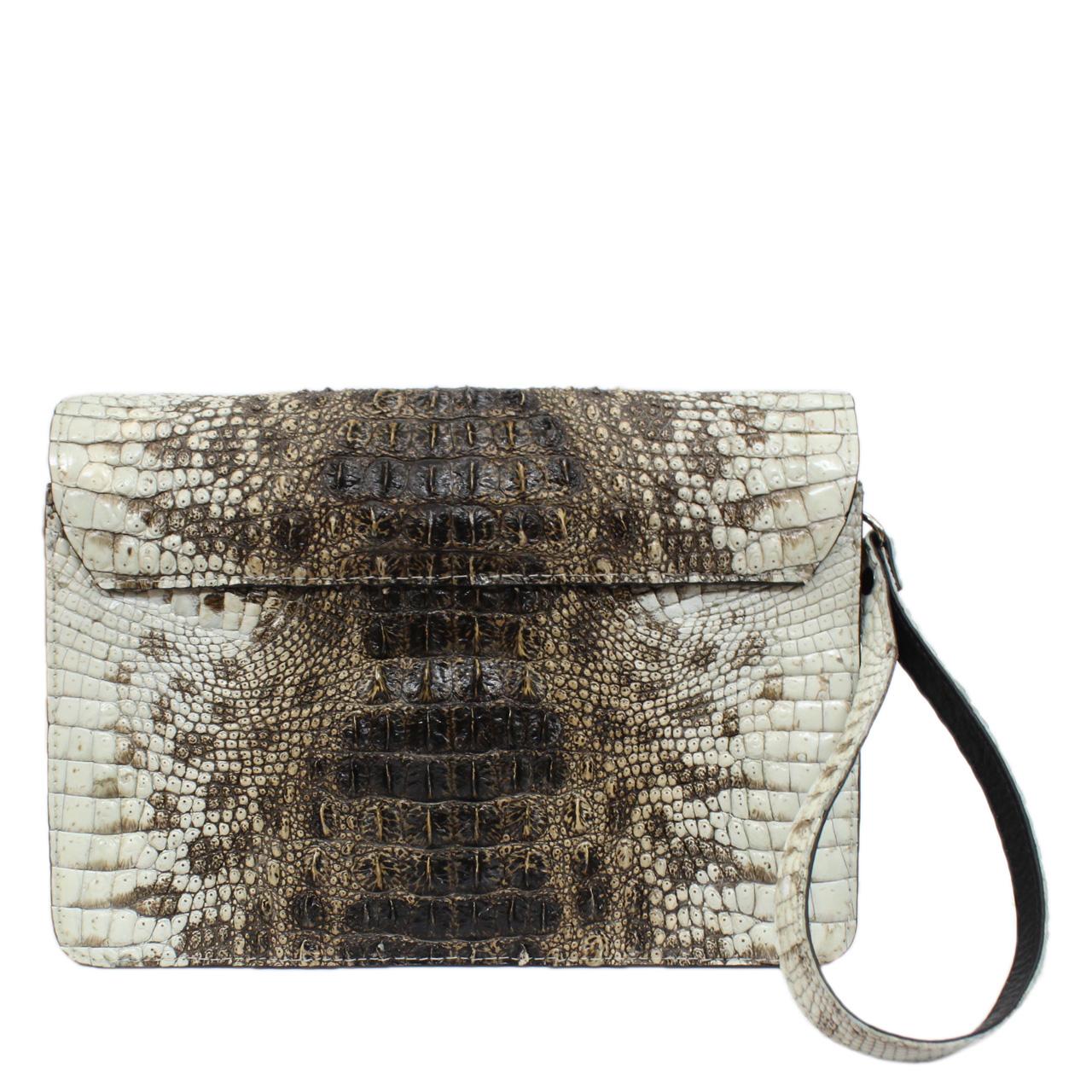 Original crocodile leather handbag S041a