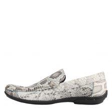 Giày lười nam da trăn E857a