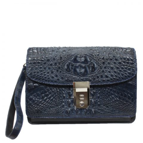 Crocodile leather handbag S040b
