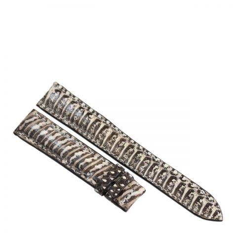 Dây đồng hồ da rắn hổ R901