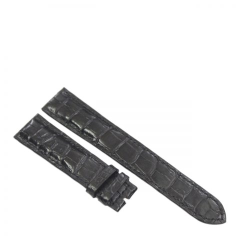 Dây đồng hồ da cá sấu may tay S910a