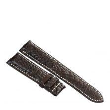Dây đồng hồ da cá sấu may tay S911a