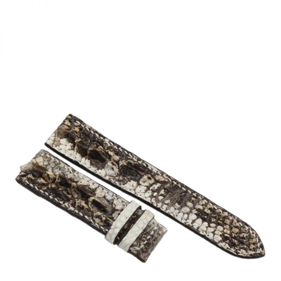 Dây đồng hồ da cá sấu nguyên thủy may tay S930