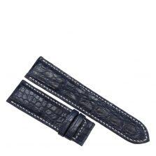 Dây đồng hồ da cá sấu may tay S913a