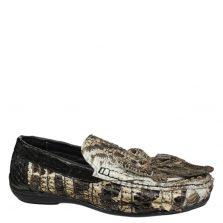 Giày nam da cá sấu nguyên thủy S873