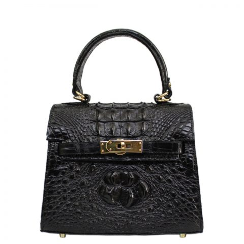 Crocodile leather handbag S042a