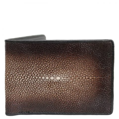 Stingray leather wallet D403b