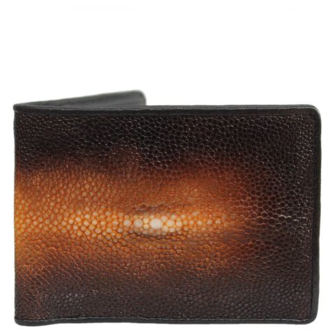 Stingray leather wallet D403c