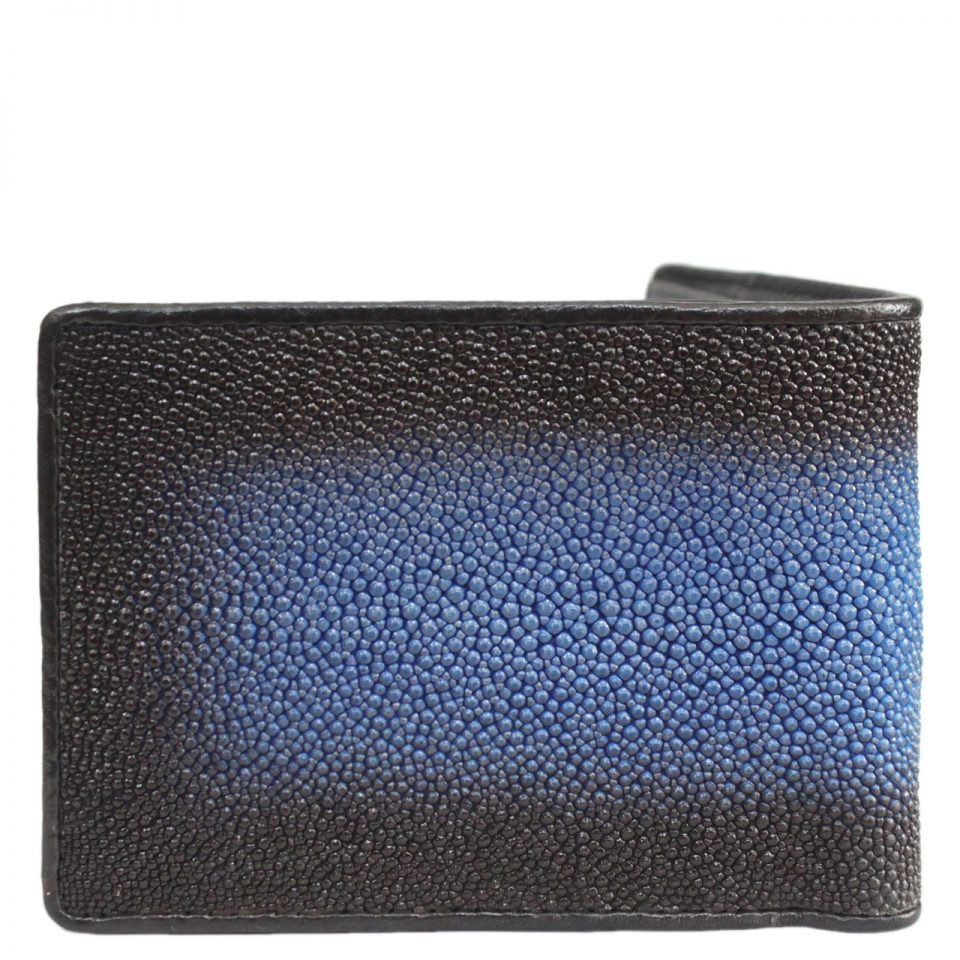 Stingray leather wallet D404b