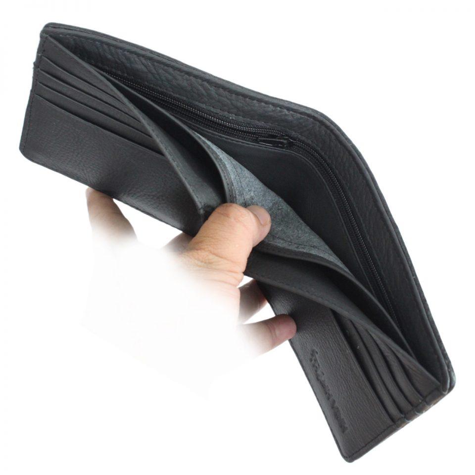 Stingray leather wallet D405b