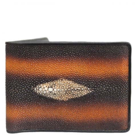 Stingray leather wallet D406a