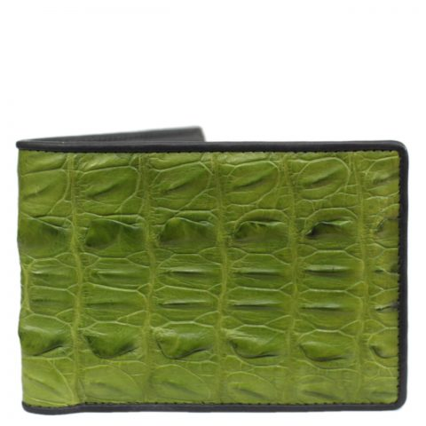 Crocodile leather wallet S409c