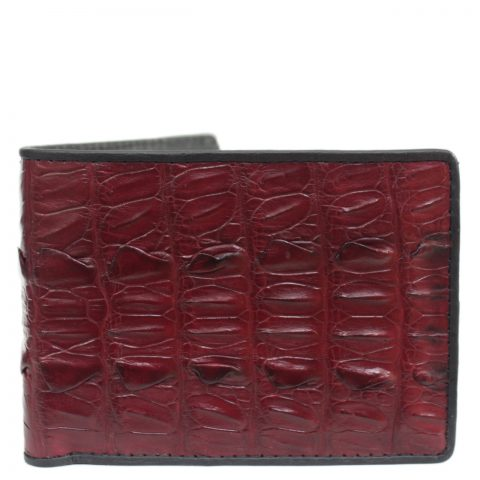 Crocodile leather wallet S409d
