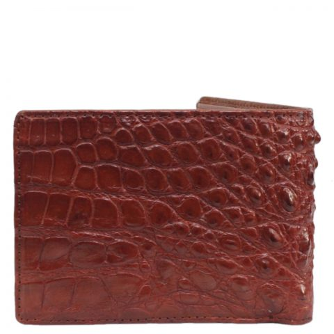 Crocodile leather wallet S420a