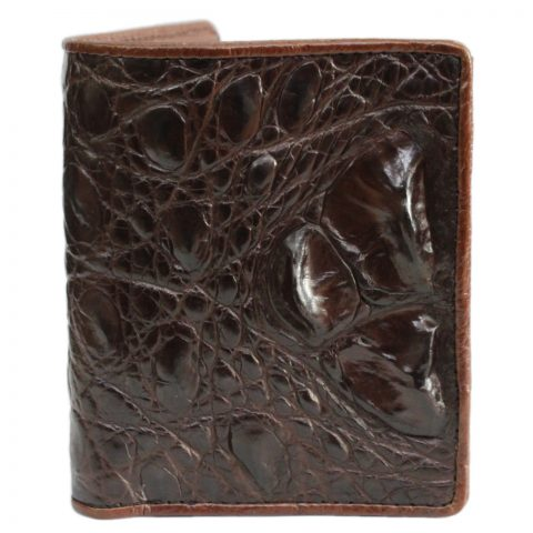 Crocodile leather wallet S450a