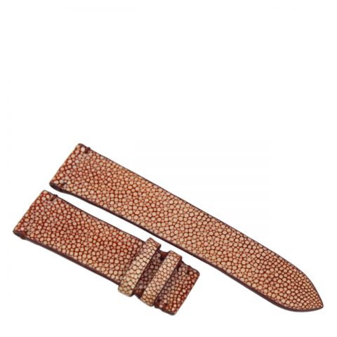 Stingray leather watch band D901b