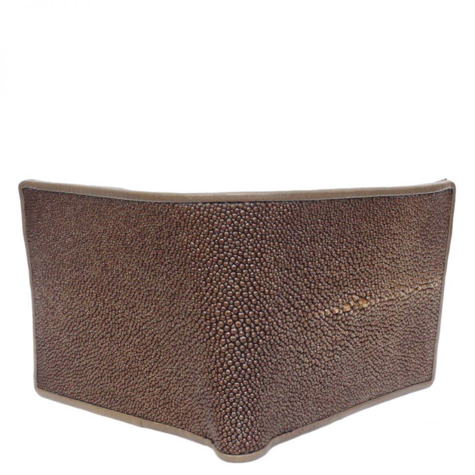 Stingray leather wallet D408a