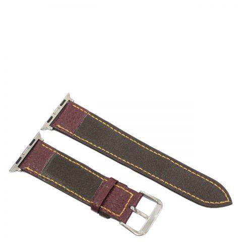 Dây đồng hồ da bò may tay Apple Watch B903a