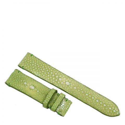 Stingray leather watch band D981a