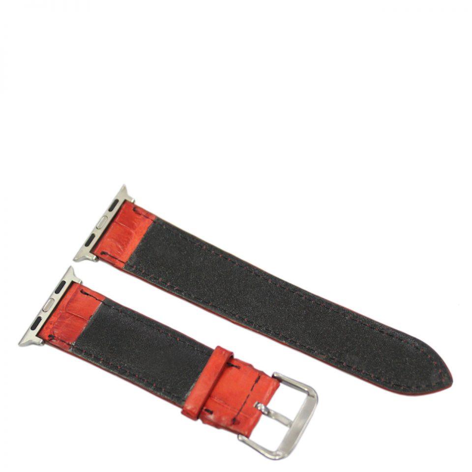 Dây đồng hồ nữ da cá sấu Apple Watch S982a