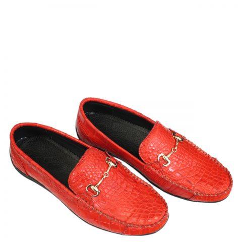 Giày lười nam da cá sấu S866a