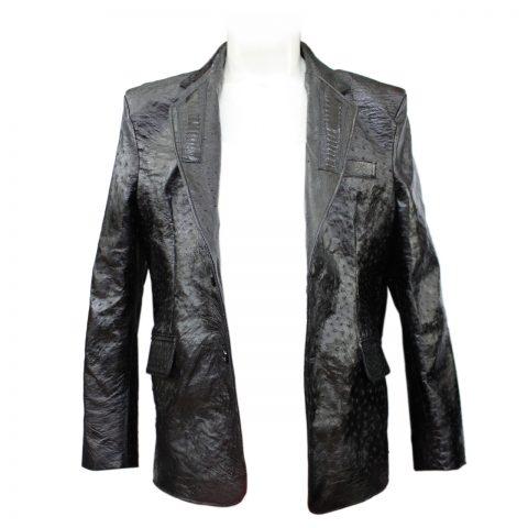 Áo khoác da đà điểu E1141a