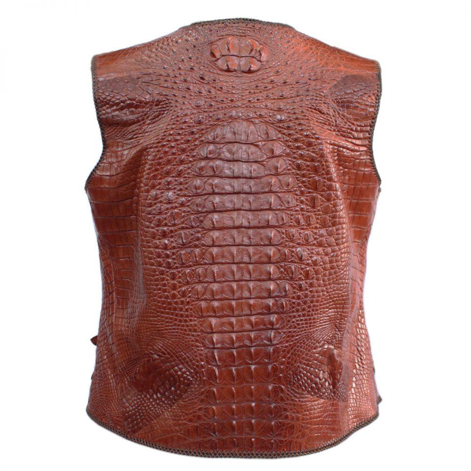 Áo khoác da cá sấu S1143a