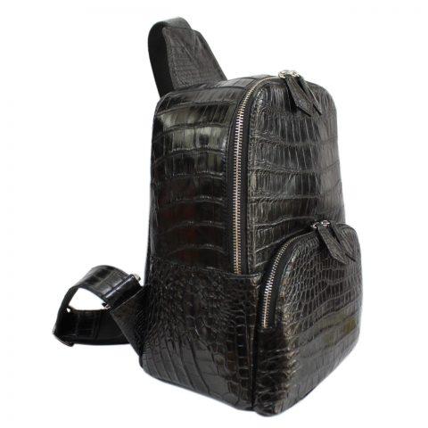 Túi đeo nam da cá sấu S205a