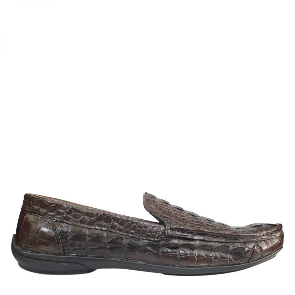 Giày lười nam da cá sấu S859b