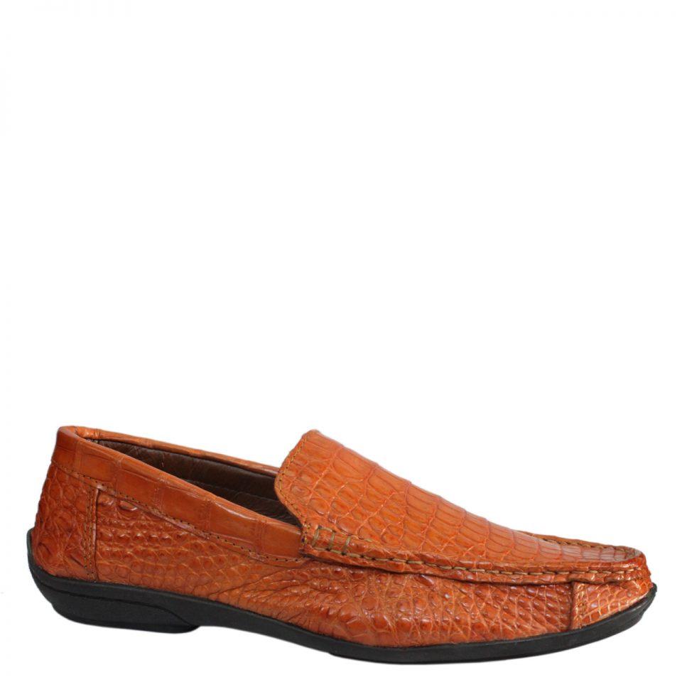Giày lười nam da cá sấu S877a